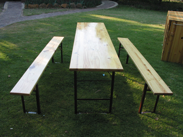 Beer Bench Set